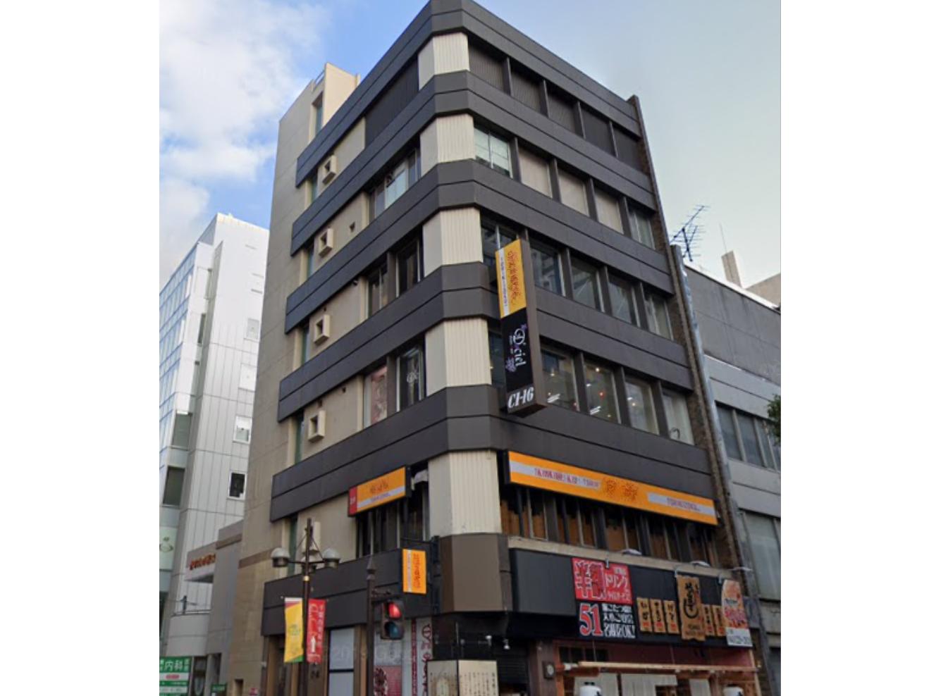 【貸店舗】第16CIビル4階・中央3丁目・21.32坪・18.15万円