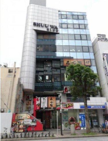 【貸店舗】秀和ビル8F・中央2丁目・41.51坪・33万円